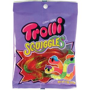 Trolli Squiggles Gummy Candy 17pc