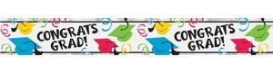 Multicolor Foil Graduation Banner