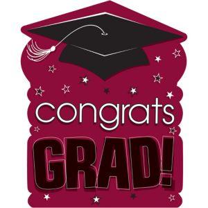 Berry Congrats Grad Cutout