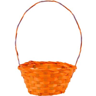 Orange Round Easter Basket