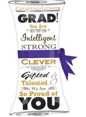 Giant Scroll Graduation Balloon