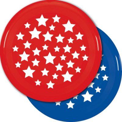 Patriotic Flying Disc