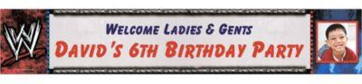 WWE Custom Photo Banner 6ft