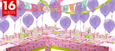 Tweet Baby Girl Baby Shower Deluxe Kit
