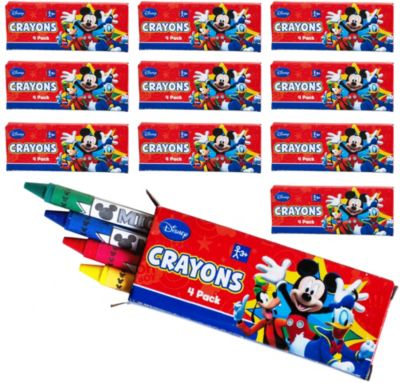 Mickey Mouse Crayons 48ct