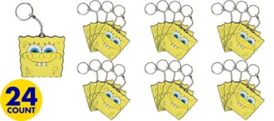 SpongeBob Keychains 24ct