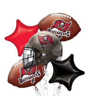 Tampa Bay Buccaneers Balloon Bouquet 5pc