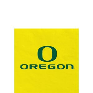 Oregon Ducks Beverage Napkins 24ct