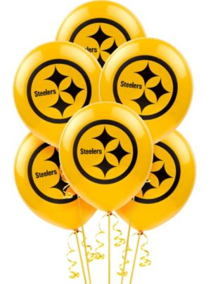 Pittsburgh Steelers Balloons 6ct