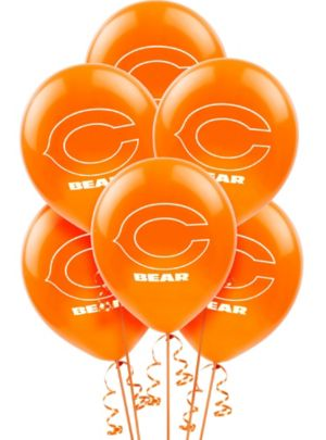 Chicago Bears Balloons 6ct