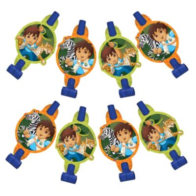 Go, Diego, Go! Blowouts 8ct