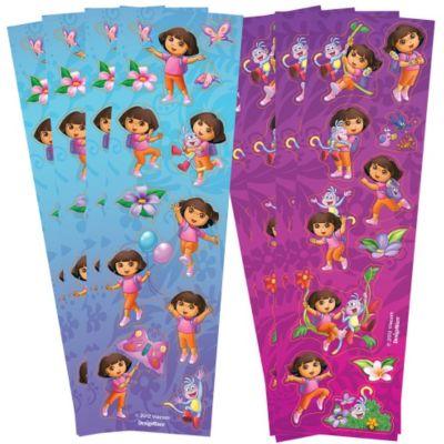 Dora the Explorer Stickers 8 Sheets