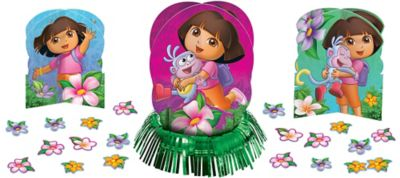 Dora the Explorer Centerpiece Kit 23pc