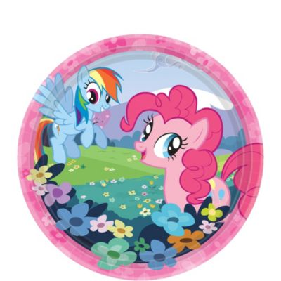 My Little Pony Dessert Plates 8ct