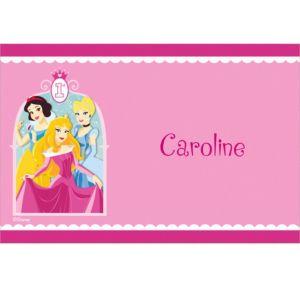 Custom Disney Princess 1st Birthday Thank You Notes
