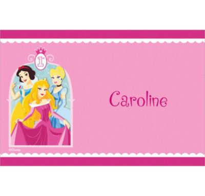 Custom Disney Princess 1st Birthday Thank You Notes