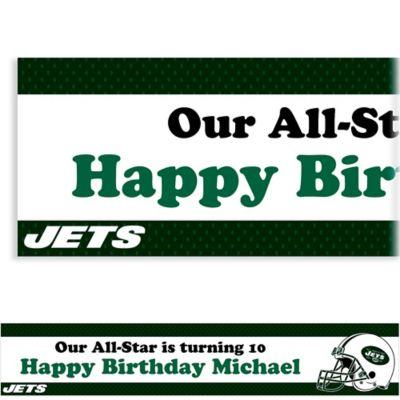 New York Jets Custom Banner 6ft
