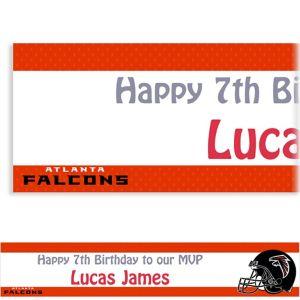 Custom Atlanta Falcons Banner 6ft