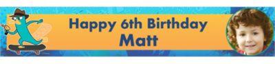 Phineas & Ferb Custom Photo Banner 6ft