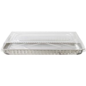 Eco Friendly Half Sheet Cake Pan With Lid 17in Party City