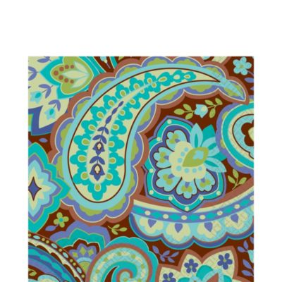Cool Paisley Lunch Napkins 16ct