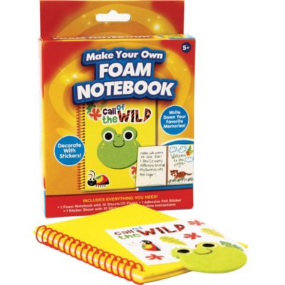 Foam Notebook Craft Kit
