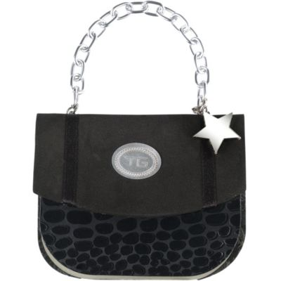 Black Crocodile Handbag Notepad