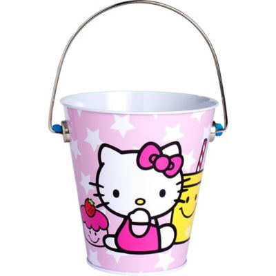Hello Kitty Metal Pail