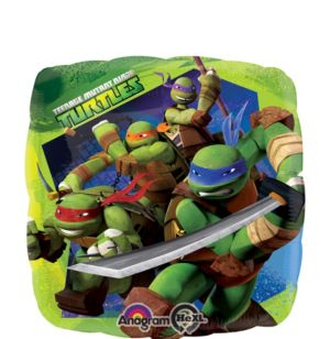 Teenage Mutant Ninja Turtles Balloon - Square