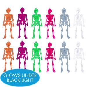 Neon Skeletons 12ct