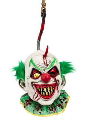 Hanging Clown Head