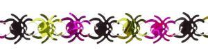Foil Spider Garland