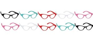 Classic 50s Cat Eye Glasses 10ct