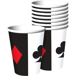 Place Your Bets Casino Cups 8ct