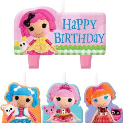 Lalaloopsy Birthday Candles 4ct