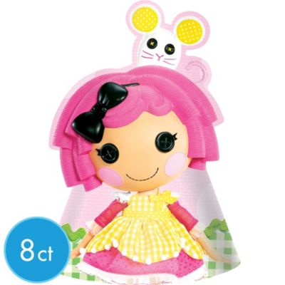 Lalaloopsy Party Hats 8ct