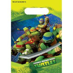 Teenage Mutant Ninja Turtles Favor Bags 8ct
