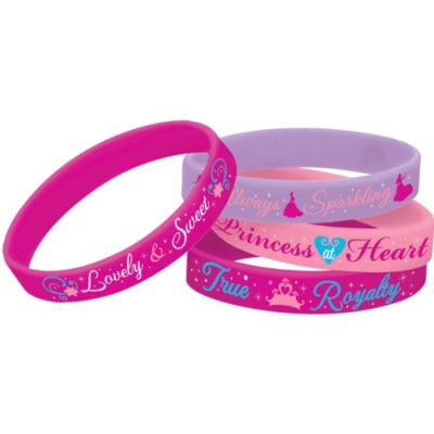 Disney Princess Wristbands 4ct