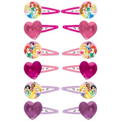 Disney Princess Hair Clips 12ct
