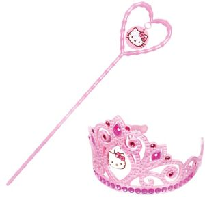 Hello Kitty Tiara and Wand Set