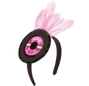50s Record Headband