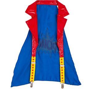 Superhero Halter Suspender Cape