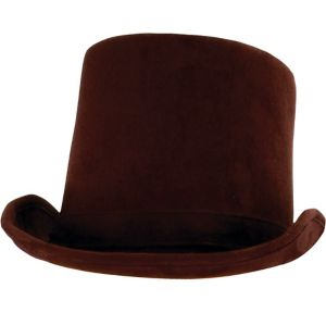 Brown Coachman Hat