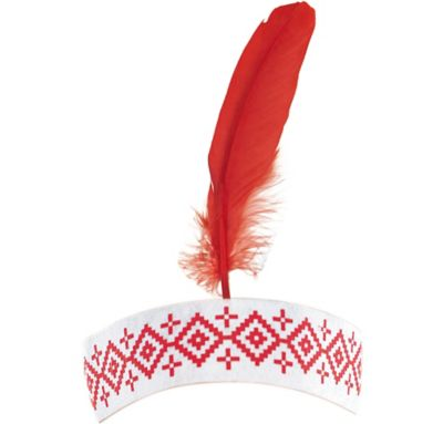Thanksgiving Feather Headband
