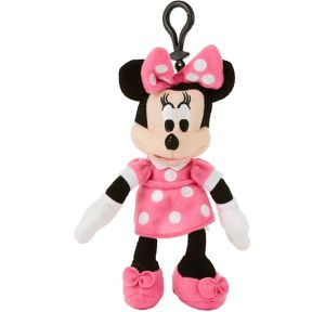 Clip-On Minnie Mouse Plush