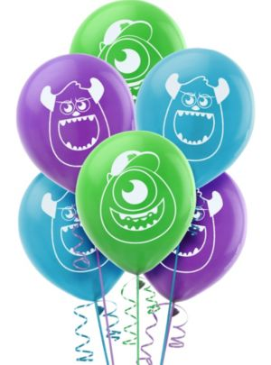 Monsters University Balloons 6ct
