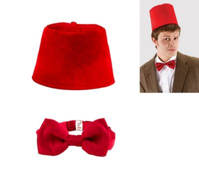 Doctor Who Fez and Bow Tie Set