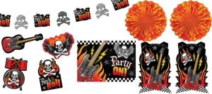Rock On Room Decorating Kit 10pc