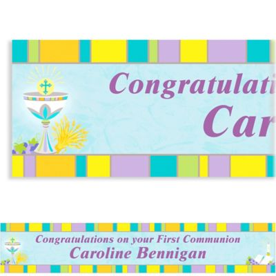Joyous Communion Custom Banner