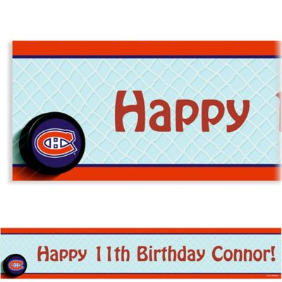 Custom Montreal Canadiens Banner 6ft